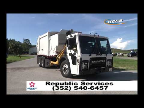 Republic Services Automated Trash Service in Hernando County