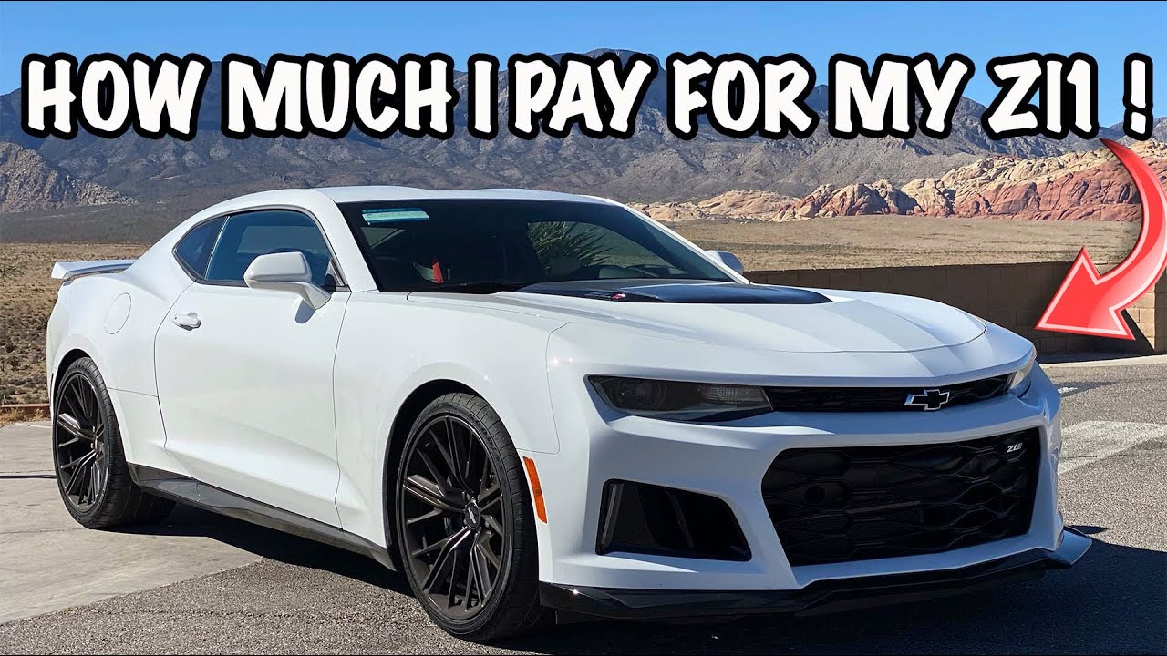 How Much I Pay For 2018 Camaro ZL1 At 21yrs Old !