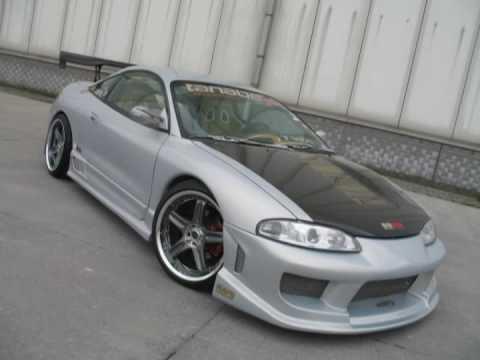 Tuned 1998 Mitsubishi Eclipse