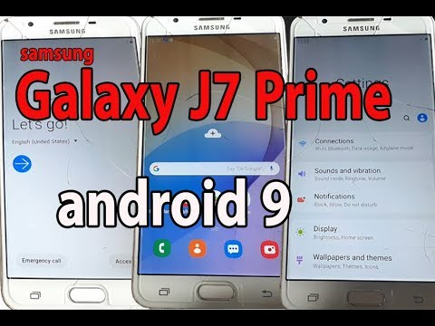 How To Update Samsung Galaxy J7 Prime To Android 9.0 Pie (1.5 UI)