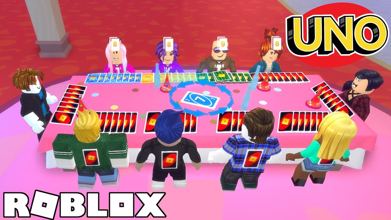 LARGEST UNO Game on ROBLOX (with fans)!