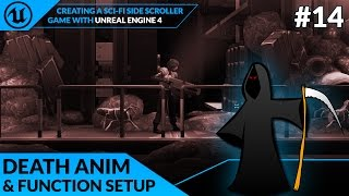 Death Animation & Function - #14 Creating A SideScroller With Unreal Engine 4