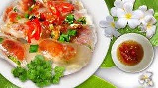 Hướng dẫn cách làm bánh bột lọc   Vietnamese tapioca dumplings ngon hấp dẫn