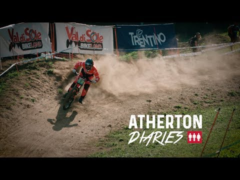 Atherton Diaries Episode 11:  World Cup 7 Val di Sole – Straight in Full Bore!