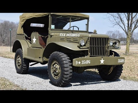 Keep Your Jeeps, We'll Take One Of These WW2 Dodge WC Power Wagons thumbnail