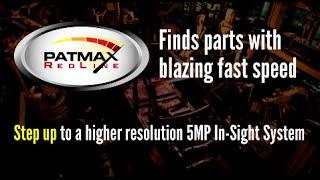 In Sight 5MP PatMax Redline