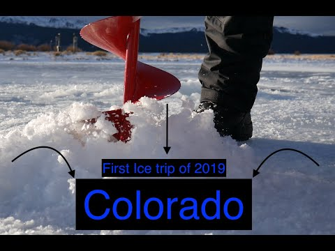 Colorado First Ice Fishing 2k19