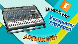 ⏩Europower PMP6000⏪ ¡UNBOXING!