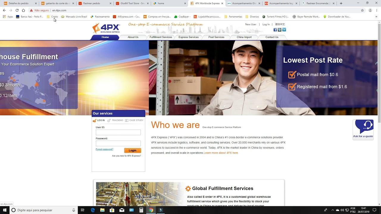 Rastreamento Aliexpress Premium Shipping