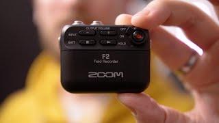 Der neue ZOOM F2 Field Recorder mit 32 Bit!   Test & erster Eindruck