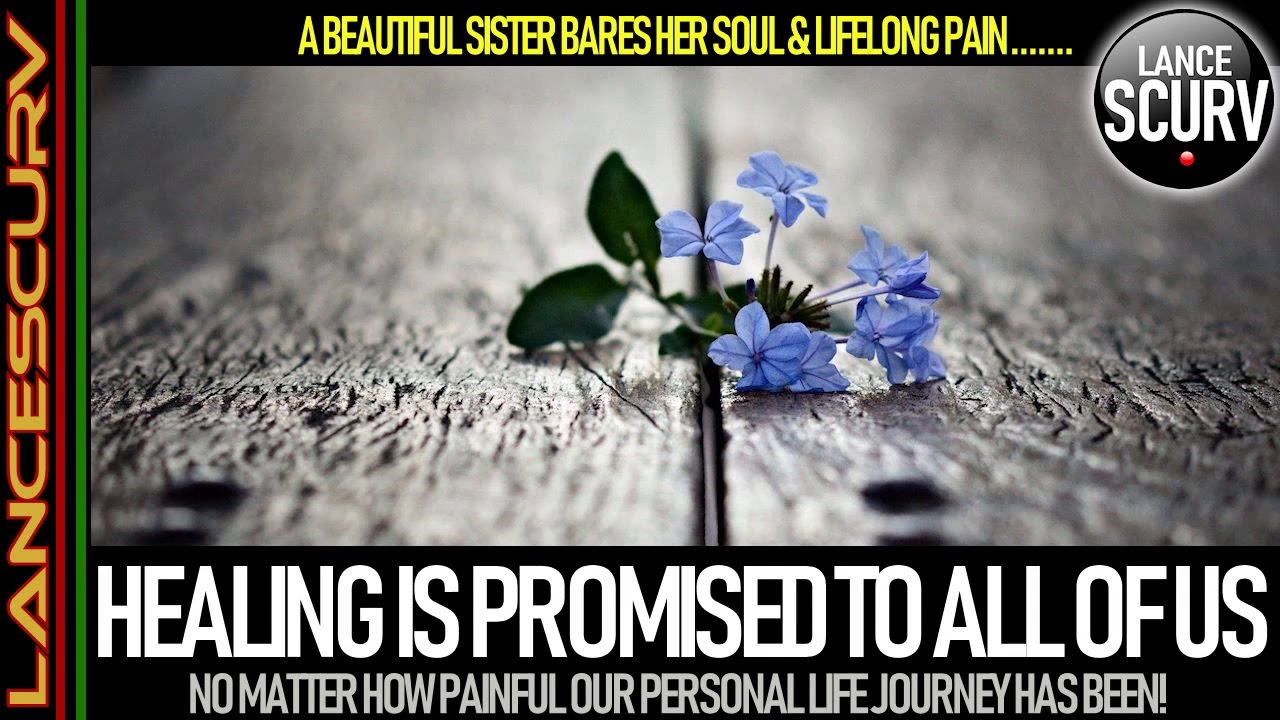 HEALING IS PROMISED TO ALL OF US NO MATTER HOW PAINFUL OUR PERSONAL JOURNEY HAS BEEN!