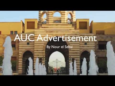 Advertisement for The American University in Cairo