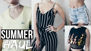 HUGE Summer Try-On Haul | ShopPriceless, FashionNova, Forever21 | Sydney Joz