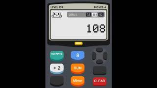 Calculator 2 The Game Level 159 Solution