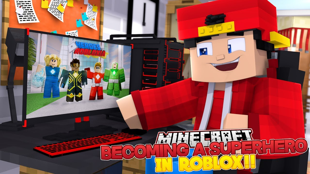 Becoming A Superhero In Roblox - Minecraft Adventure Becoming A Superhero In Roblox