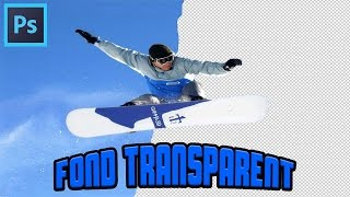 TuTo : Fond Transparent Sur Image Simple (Photoshop)