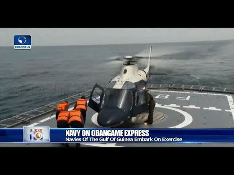 Nigerian Navy Deploys  Four Vessels, Chopper, NAF Plane For Obangame Express 2019
