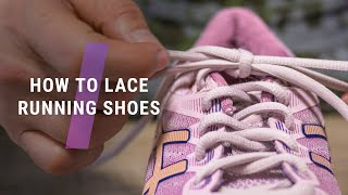 How to lace running shoes // L…