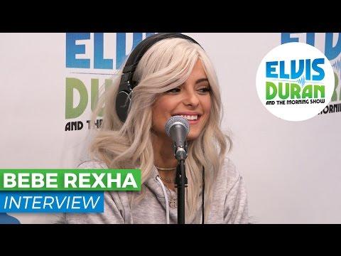 Bebe Rexha Got Dumped Via Text Message + Spills Details on Debut Studio Album | Elvis Duran Show