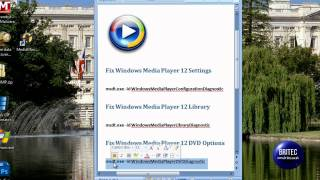 How to Fix, Repair Windows Media Player by Britec