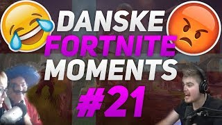 DANSKE FORTNITE MOMENTS #21 - Ft. MarckozHD, Jaxstyle, MadsenGaming, Bloch, AndersPlays & flere