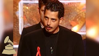 soundgarden best metal performance acceptance speech 37th grammy awards