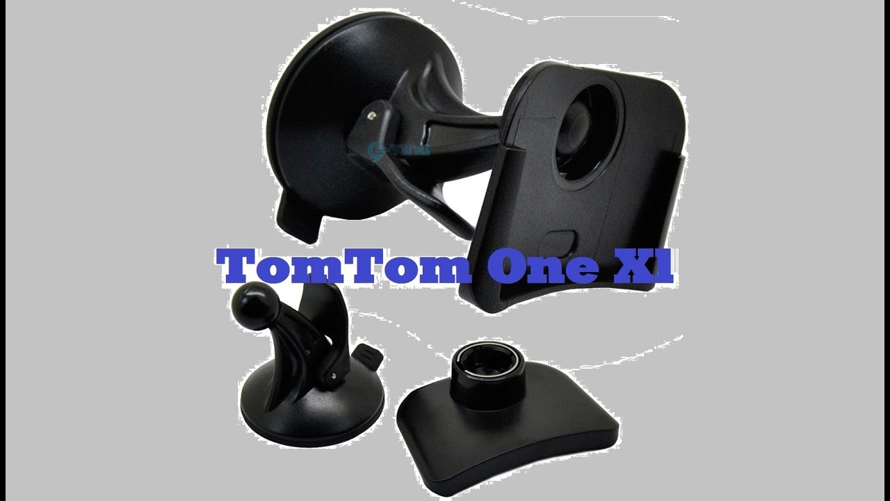 auto halterung halter f r tomtom one xl youtube. Black Bedroom Furniture Sets. Home Design Ideas