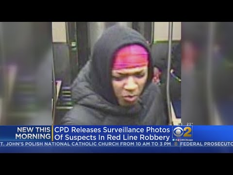 Lance Houston - Chicago Police Release Images of Suspects in Red Line Robberies