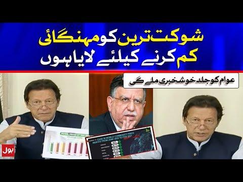 Imran Khan Announcement against Inflation