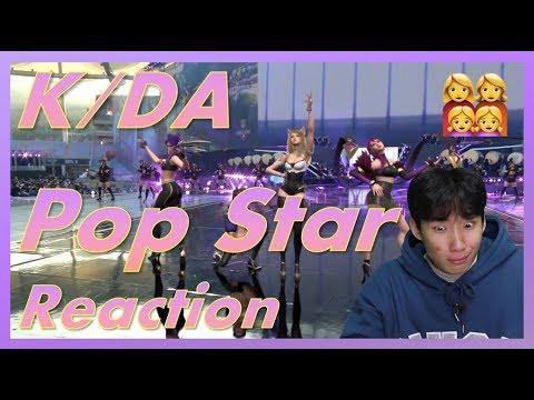 [Reaction] K/DA - Pop Star M/V & Performance Reaction   Why am I falling in love with virtual...