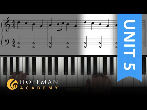 Bagpipe - Piano Lesson 98 - Hoffman Academy