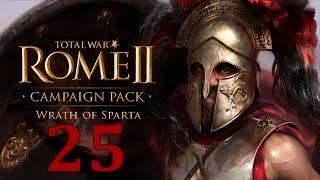 Ярость Спарты #25 - Коринф [Total War: Rome II - Wrath of Sparta](Прохождение кампании