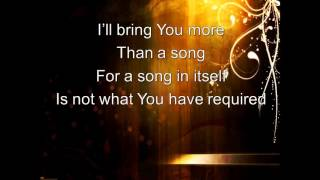 Tommy Brandt - Heart of Worship (Lyric Video)