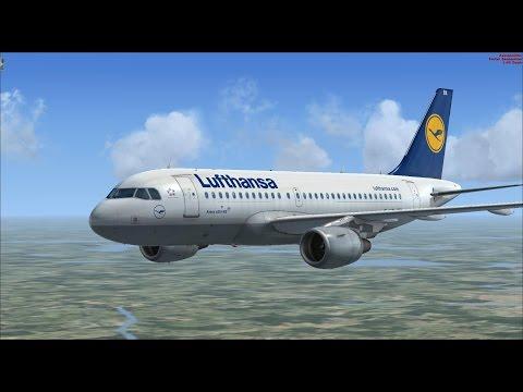 Let´s Play Flight Simulator X #1 / A319 Paderborn-Berlin