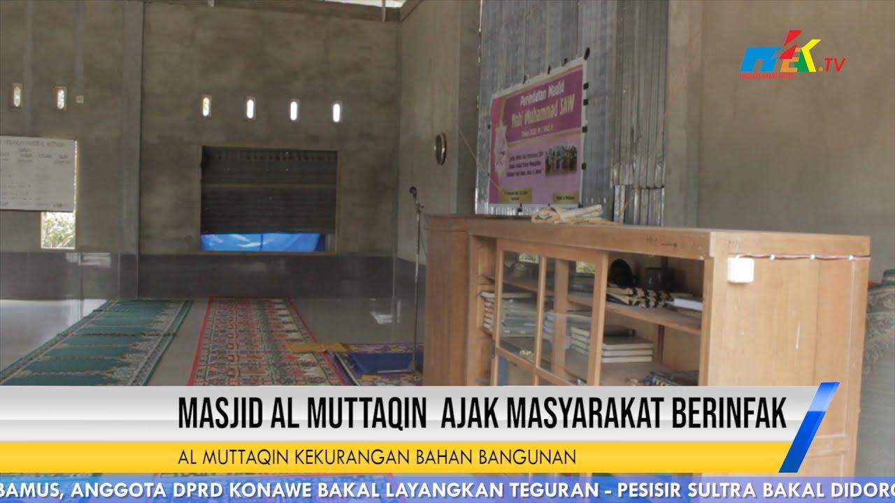 Masjid Al Muttaqin Kekurangan Bahan Bangunan