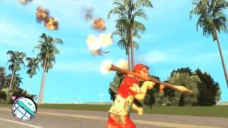 Grand Theft Auto 4: Vice City RAGE (Gameplay) - God Mode.
