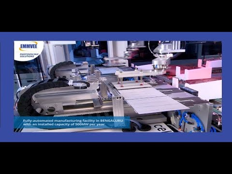 Solar Energy Manufacturing Cell System, EMMVEE Solar Technology