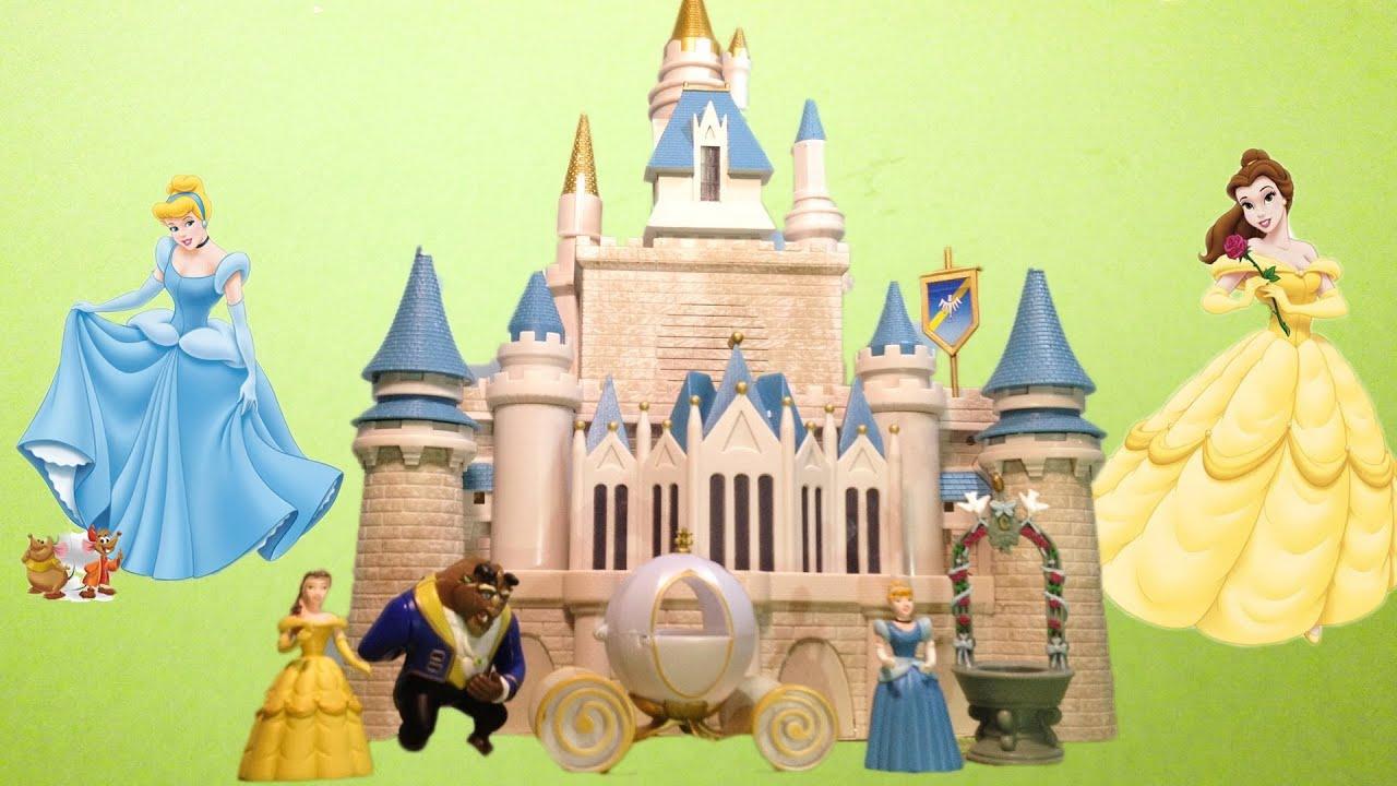 CINDERELLA CASTLE Play Set Walt Disney World Toy Playset