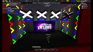 Orchard sings Hopeful and gets GOLDEN BUZZER!! | Auditions 1 | Got Talent ROBLOX
