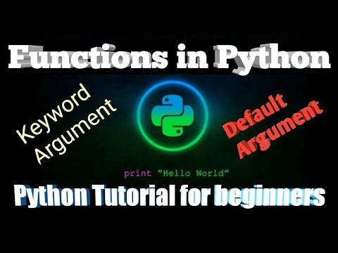 #4 Functions in Python | Python Tutorial for Beginners | part-4 | Bangla Tutorial thumbnail