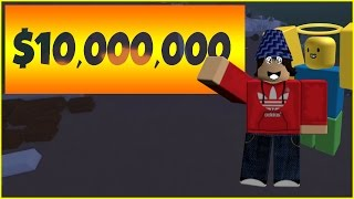 ROBLOX Lumber Tycoon 2 (Pro Helps Noob!) Pro Gets Rewarded 10MILL