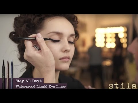 GET THE LOOK: Three Ways To Apply Stila Stay All Day Liquid Liner