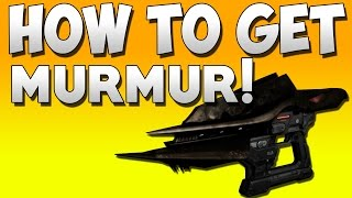 DESTINY HOW TO GET MURMUR! Destiny Dark Below Story & Legendary Murmur Walkthrough