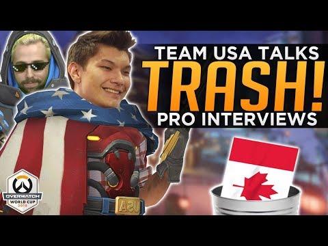 Overwatch: Team USA Trash Talks Canada! - Eqo Was a Plat!
