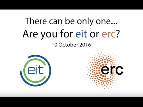 EIT (European Institute of Innovation & Technology) vs. ERC (European Research Council)