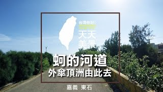 嘉義東石 蚵的河道 外傘頂洲由此去 - 美景系列