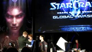 Polt & MC introduction @ Starcraft 2: Heart of the Swarm Launch Event (Irvine, CA)
