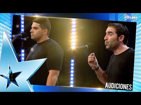 DÚO ROMA cantó una bella canción pero no deslumbró al jurado