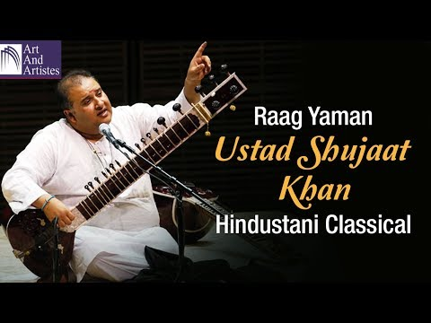 Ustad Shujaat Khan Sitar | Hindustani Classical | Instrumental | Idea Jalsa | Art and Artistes