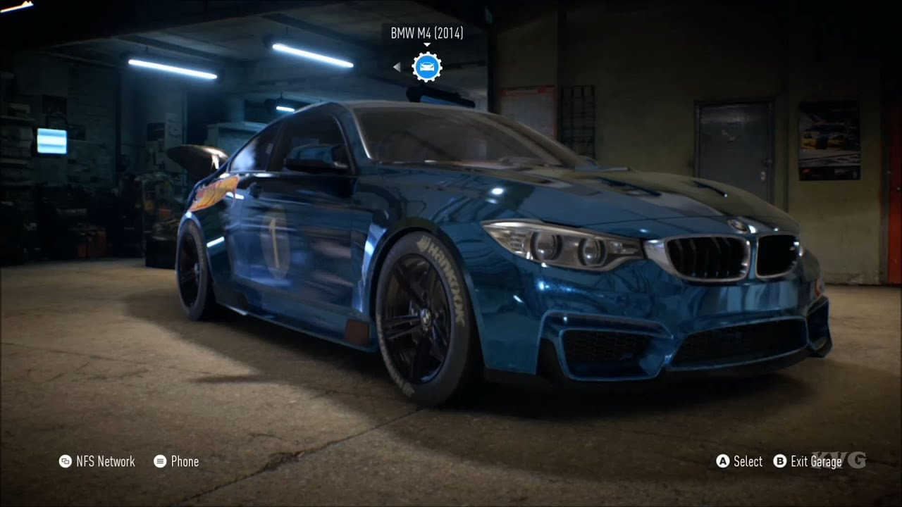 Need For Speed 2015 BMW M4 2014 Customize Car